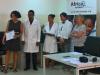 Entrega de Diplomas Curso Esterilización 23 MSCV Africa Avanza