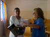 Donación equipos médicos 23 MSCV Africa Avanza