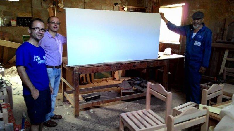 Visita carpintero local para Integranet 2015