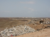 Escombros dañando el medioambiente de Sal