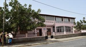 Sede de la Associação Chã de Matias en Espagos, Isla de Sal, Cabo Verde
