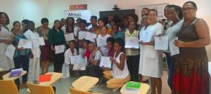 Formandos asistentes Curso de Esterilización 23ª MSCV