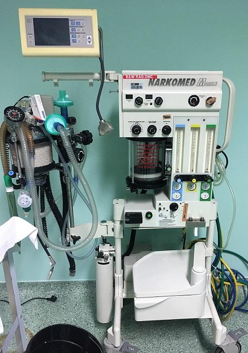 respirador anestesia Ministerio Saude