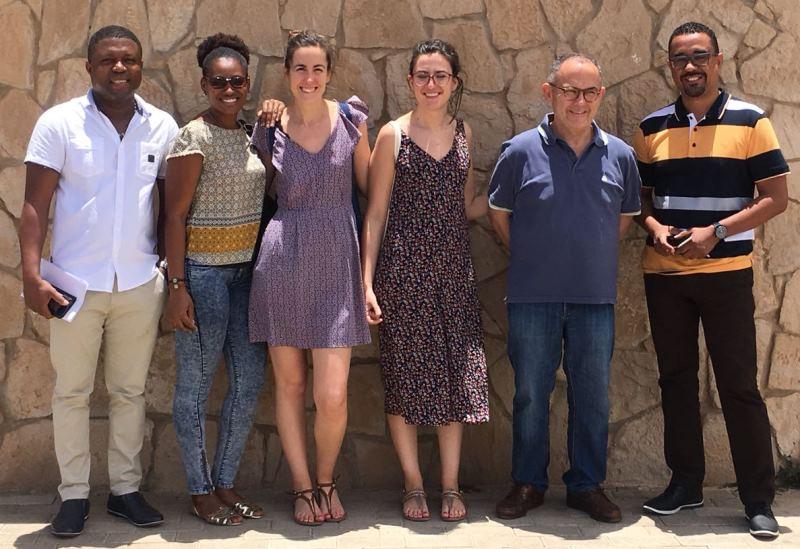 Voluntarios de la 27ª MSCV en el Hospital Sal