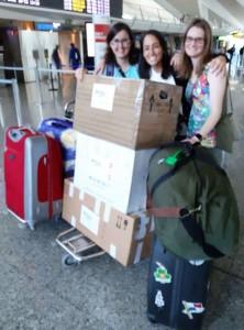Voluntarias de Africa Avanza, en Misión nº33 partiendo de Bilbao