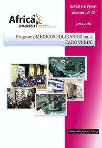 Portada Relatorio 33 Fase MSCV Junio 2019