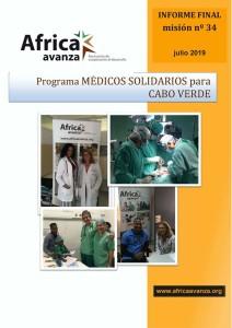 Portada Relatorio 34 Fase MSCV Julio 2019